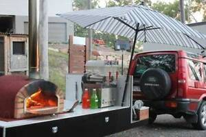 Woodfired Pizza Oven/slush Combo Trailer/Outdoor Movie Party Hire Robina Gold Coast South Preview