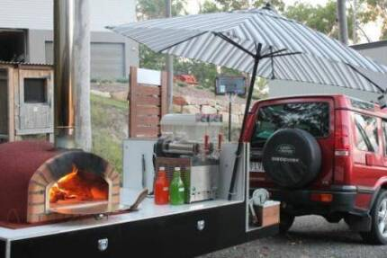 D.I.Y Woodfired Pizza Oven Trailer Party Hire