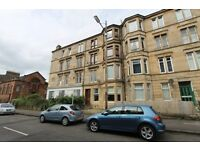 Traditional 2 bedroom unfurnished ground floor flat on Meadowpark Street Dennistoun Eastend