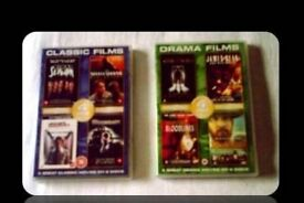 DVDS - CLASSIC/DRAMA FILMS - (8 titles) - FOR SALE