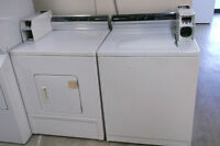 DUO LAVEUSE,SECHEUSE COMMERCIAL/DUO COMMERCIAL WASHER,DRYER