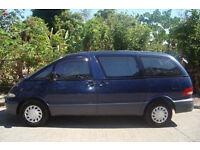 1996 Toyota Estima Emina 2.2D Diesel - 4 Speed auto - 2Wd - mint condition 8 seater mpv camper van