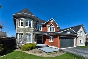 Ajax Riverside Double Garage 4Br Detached House For Lease!