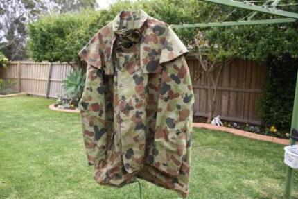 Camo Jacket and Pants, fishing, camping, hunting, paintball Currans Hill Camden Area Preview