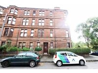 Traditional 2 bedroom ground floor furnished flat on Bouverie Street, Yoker Westend