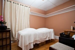 Treatment Room & Reception Wellness Clinic at Yonge and Eglinton