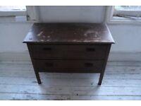 Chest of drawers - dark wood