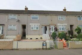 Mid terraced 2 bedrrom unfurnished house on Dunottar Avenue Shawfield Coatbridge