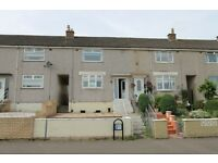 Mid terraced 2 bedrrom unfurnished house on Dunnotar Avenue Shawfield Coatbridge