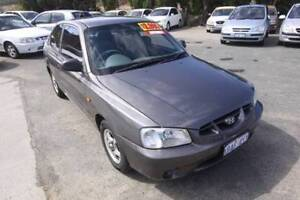 2001 Hyundai Accent Automatic Hatchback Beaconsfield Fremantle Area Preview