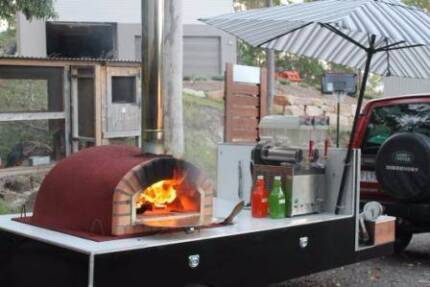Woodfired Pizza Oven Trailers/Trolleys- DIY great party hire