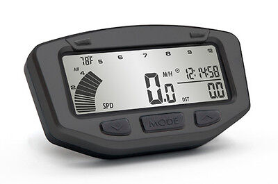 "Trail Tech Atv Vapor Tachometer-computer ""black"" Fits ""most"" Model Atvs"
