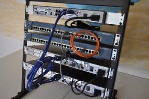 Routeur Cisco 2611XM - CCNA,CCNP,Lab,Etc