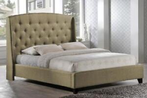 Modern Platform Bed | Queen Size Be (T1100)