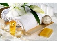 Treat Body&Mind: Swedish Massage £34/60 min; Deep Tissue £38/60 min; Aromatherapy Massage £54/90min