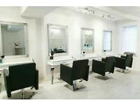 Hair salon furniture Chairs mirror styling station