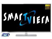 panasonic viera tx-l42et61b led. 3d. smart. wifi . mint condition