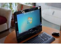 """DELL INSPIRON ONE 19"""" ALL IN ONE TOUCH SCREEN PC WINDOWS 10"""