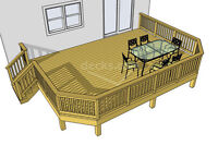 MHI home improvements now booking for decks and fences