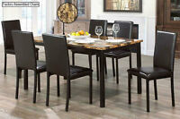 BRAND NEW FAUX MARBLE DINETTE