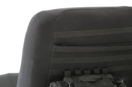 Jeep Wrangler JK GEAR Rear Seat Cover MOLLE Black 13 17 Smittybilt 56647901