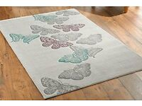 PRETTY BUTTERFLY RUG