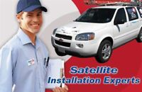BELL / SHAW/ and DIRECT TV SATELLITE INSTALLATION  SERVICE