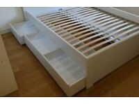 Ikea Brusali underbed storage drawers