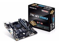 78LMT- USB3 Motherboard - New