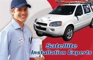 Satellite dish installation/repair/Pointing/ Bell Directv Shaw