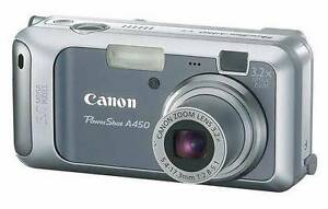 Cannon Powershot A450 5 Megapixel Camera Wembley Cambridge Area Preview