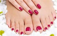 ***($38) Mani + Pedi *** ($98) Full Body Wax *** In KW Salon ***
