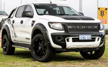PX FORD RANGER KUTSNAKE FLARES AND GRILLE COMBO FREE METRO DELIVE