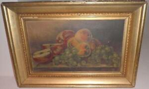 How Much Is A Large Framed Oil Painting Worth