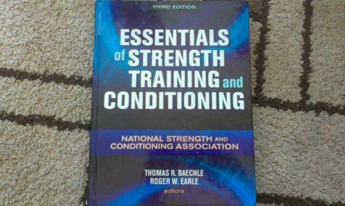nsca essentials of strength and conditioning pdf