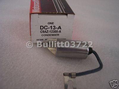1969 1970 1971 Mercury Cyclone Spoiler Ignition Condenser
