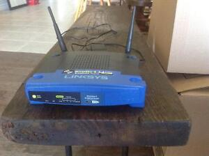 Mint Linksys WRT54GL router. London Ontario image 2