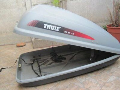 Thule Polar 100 Roof Box With All Brackets Straps And