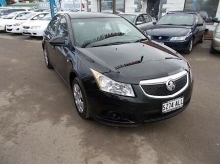 2011 Holden Cruze JH Series II MY12 CD Black 6 Speed Sports Automatic Sedan Gepps Cross Port Adelaide Area Preview