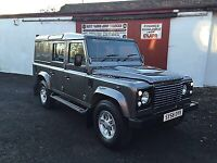 2008 (58) Land Rover Defender 110 County XS 2.4 TDCi Utilty Station Wagon