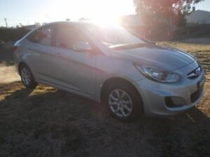 2014 Hyundai Accent RB2 MY15 Active Silver 4 Speed Sports Automatic Sedan Dubbo Dubbo Area Preview