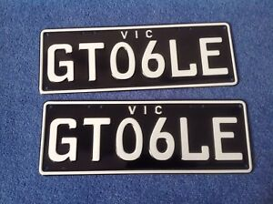 Personalised Number Plates Belmont Geelong City Preview