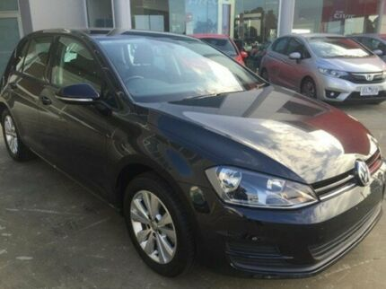 2015 Volkswagen Golf VII MY15 90TSI DSG Comfortline Black 7 Speed Sports Automatic Dual Clutch
