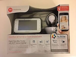Motorola MBP854CONNECT is a Wi-Fi® video baby monitor