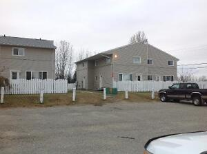 Furnished 3-Bedroom Town House in MACKENZIE BC for RENT SEPT 1st