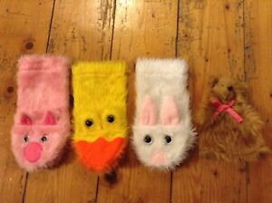 4 Animal Hand Puppets Glen Iris Boroondara Area Preview