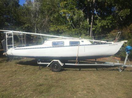 Rob Legg 24 Sailboat MkII 1977