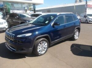 2015 Jeep Cherokee KL MY15 Limited Blue 9 Speed Sports Automatic Wagon Dubbo Dubbo Area Preview