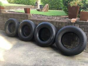 HILUX TYRES BRIDGESTONE 265 65 17 PLUS SPARE RIM & TYRE Goodna Ipswich City Preview