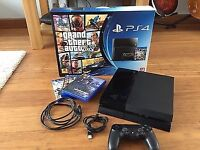 PS4 500GB for sale - Includes 3 games